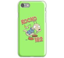 Rocko 182 iPhone Case/Skin