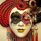 Venetian Mask by Michele Filoscia