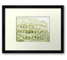 The Roman Colosseum Framed Print