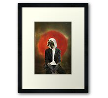 Sadcrow Framed Print