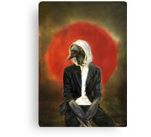 Sadcrow Canvas Print