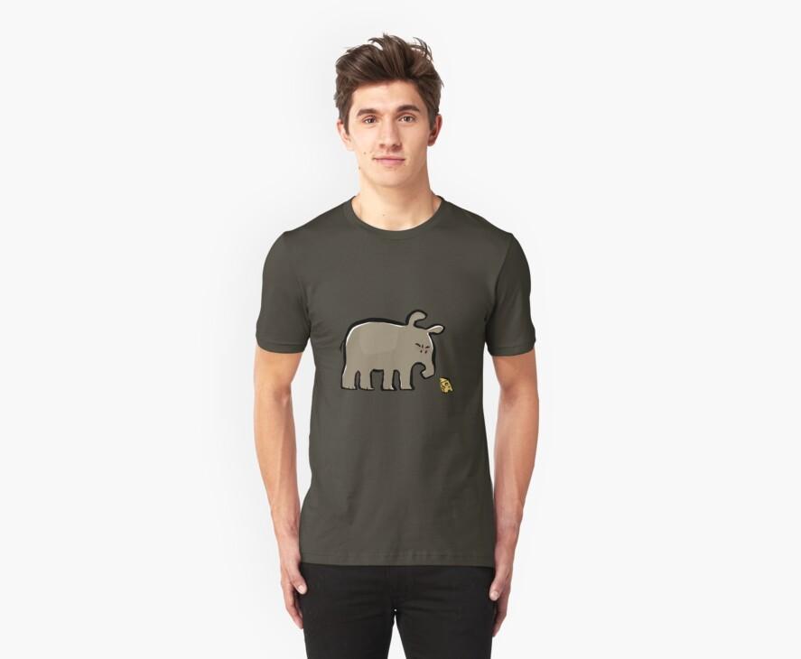 tapir vs cheese by greendeer