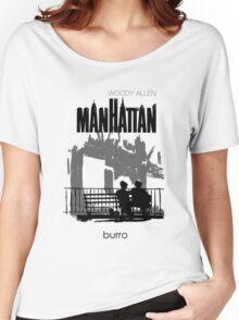 Woody Allen's Manhattan - illustration Women's Relaxed Fit T-Shirt