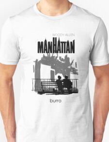 Woody Allen's Manhattan - illustration Unisex T-Shirt
