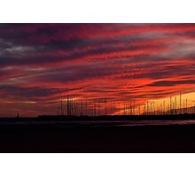 Can Pastilla Sunset Photographic Print