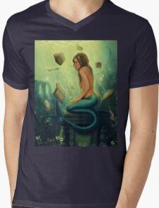 Lost Books 2 - Mermaid Reading Underwater T-Shirt