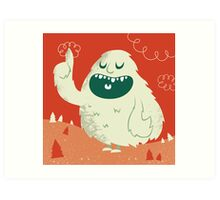 the Wise Monster Art Print