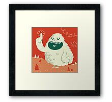 the Wise Monster Framed Print