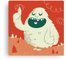 the Wise Monster Canvas Print