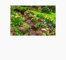 The Little Creek in the Garden - Impressions Of Spring Unisex T-Shirt