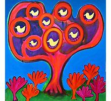 Tree and Birds Photographic Print