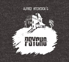 Alfred Hitchcock's Psycho by Burro! (black tee version) Zipped Hoodie
