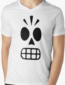 Manny Calevara  Mens V-Neck T-Shirt