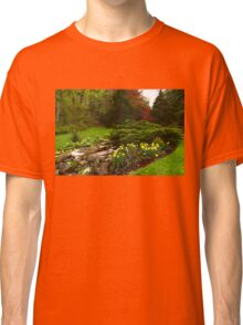 New Leaves and Flowers - Impressions Of Spring Classic T-Shirt