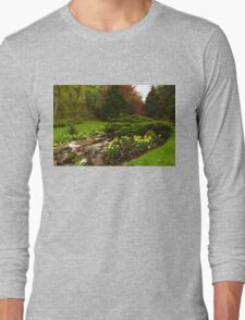 New Leaves and Flowers - Impressions Of Spring Long Sleeve T-Shirt