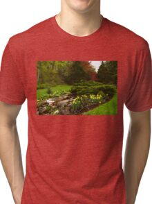 New Leaves and Flowers - Impressions Of Spring Tri-blend T-Shirt