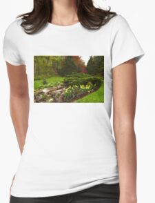 New Leaves and Flowers - Impressions Of Spring Womens Fitted T-Shirt