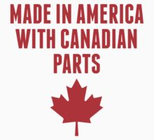 Made In America With Canadian Parts One Piece - Short Sleeve