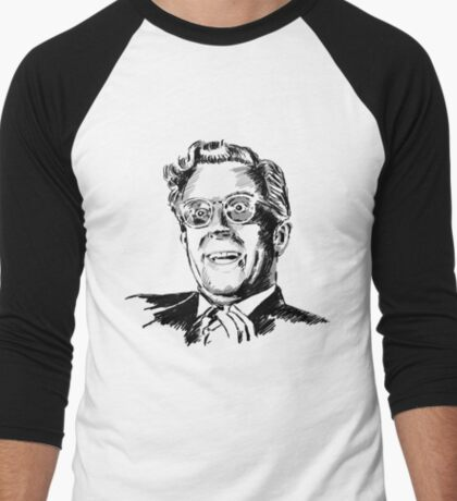 Dr Strangelove by burro Men's Baseball ¾ T-Shirt