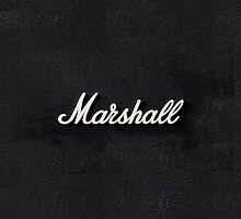 Marshall Amp by Alternative Art Steve