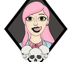 Pink Death by Hamsternio