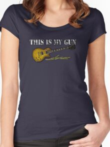 This Is My Gun Women's Fitted Scoop T-Shirt