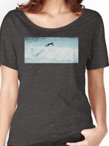Surfer Ride the Waves Women's Relaxed Fit T-Shirt