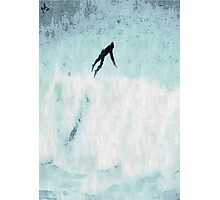 Surfer Ride the Waves Photographic Print