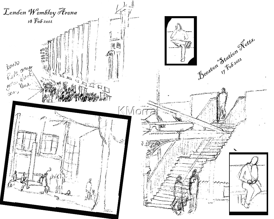 Urban Scribbles by KMorral