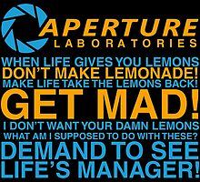 Aperture Science Laboratories by Hammered