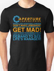 Aperture Science Laboratories T-Shirt