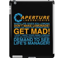 Aperture Science Laboratories iPad Case/Skin