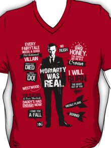 Good Old Fashioned Villain Quotes T-Shirt