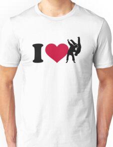 I love Judo Unisex T-Shirt