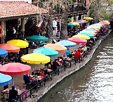 An Afternoon on the Riverwalk by DionNelson