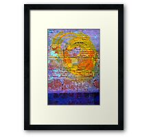 Abstract in Rust XVII Framed Print