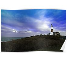 Montauk Lighthouse, Long Island NY Poster