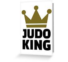 Judo King Greeting Card