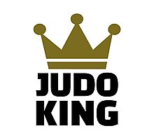 Judo King Photographic Print