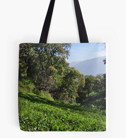 Tea Garden Tote Bag