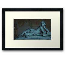 Goddess of Books in Pisa, Italy  Framed Print