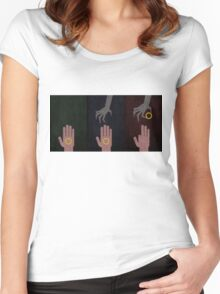To rule them all Women's Fitted Scoop T-Shirt