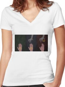 To rule them all Women's Fitted V-Neck T-Shirt