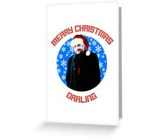 Christmas Crowley Greeting Card