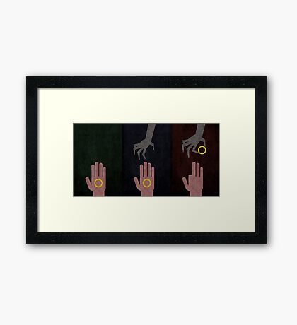 To rule them all Framed Print