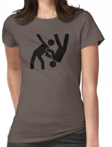Judo Womens Fitted T-Shirt