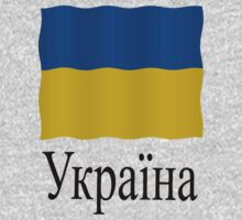 Ukrainian flag by stuwdamdorp