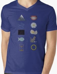 Riddles in the dark... Mens V-Neck T-Shirt