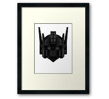 Optimus Vader Framed Print