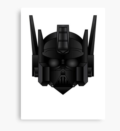 Optimus Vader Canvas Print